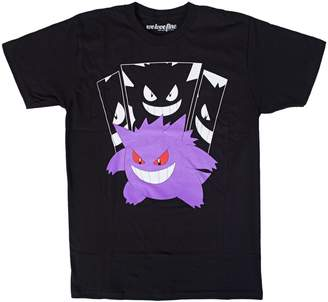 Mighty Fine Pokemon Gengar in the Shadows Graphic T-Shirt | M