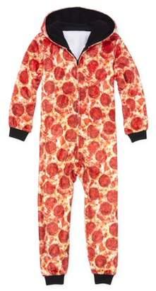 Children's Place The Hooded Pizza 1 Piece Pajama Sleeper (Little Boy & Big Boy)