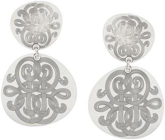 Gas Bijoux Diva double earrings