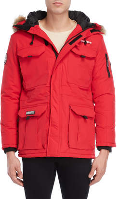 Geographical Norway Bottle Hooded Parka