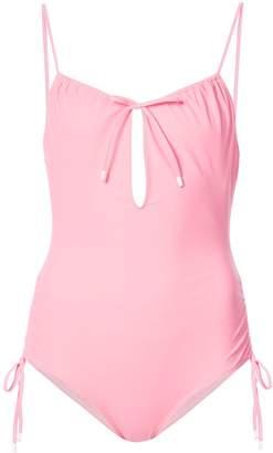 Kisuii Keyhole One Piece Swimsuit