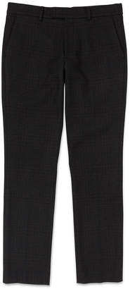 Whistles Slim-Fit Checked Trousers