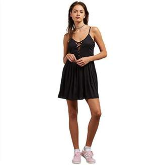 Volcom Junior's Cross Paths Woven Dress