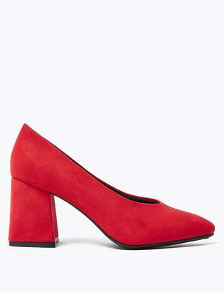 Marks and Spencer Statement Heel Court Shoes