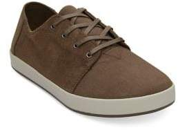 Toms Payton Bark Suede Low-Top Sneakers