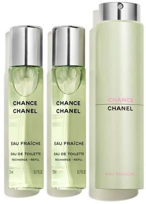 Chanel Eau de Toilette Twist and Spray (3 x 20ml)