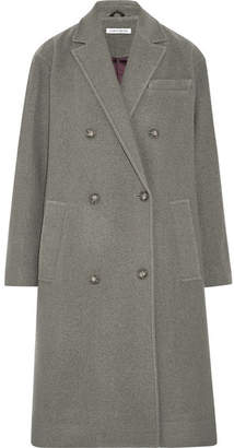 Elizabeth and James Timothy Wool Coat - Gray