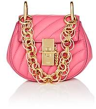Chloé Women's Drew Mini Leather Crossbody Bag - Pink
