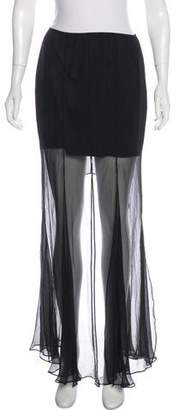 Theory Silk Maxi Skirt