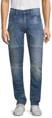 PRPS Whiskered Skinny Fit Jeans