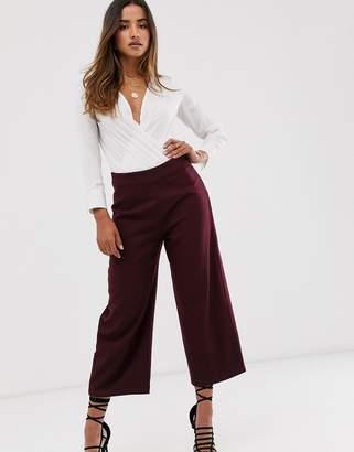 UNIQUE21 wide leg lined pants