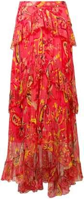 Etro floral-print skirt