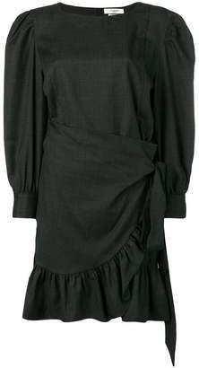 Etoile Isabel Marant short frilled dress