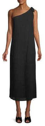 Mara Hoffman Camilla One-Shoulder Organic Cotton Maxi Dress