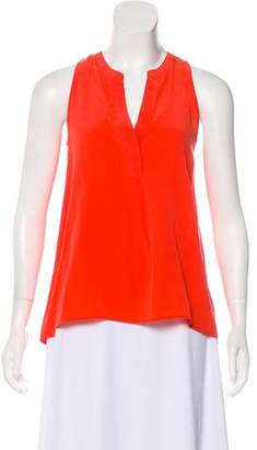 Joie Sleeveless Silk Blouse