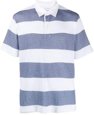 Saturdays NYC striped polo shirt