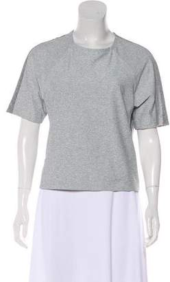 Outdoor Voices Short Sleeve Knit Top