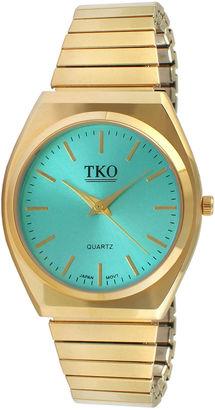 TKO ORLOGI Womens Light Blue Dial EZ Flex Expansion Bracelet Watch $75 thestylecure.com