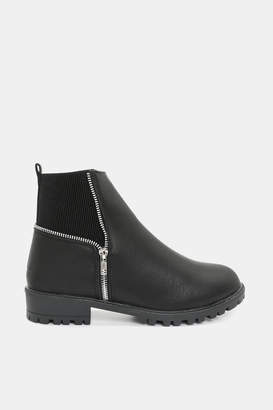 Ardene Track Sole Booties