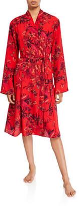 Lise Charmel Aphrodite Floral-Print Short Robe