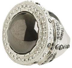 Rhinestone Dome Ring