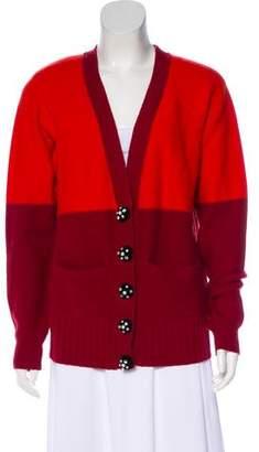 Sonia Rykiel Merino Wool & Cashmere-Blend Cardigan