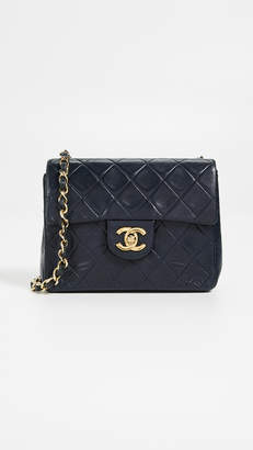 Chanel What Goes Around Comes Around Half Flap Mini Bag