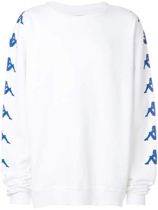 Paura Danilo x Kappa printed oversized sweatshirt