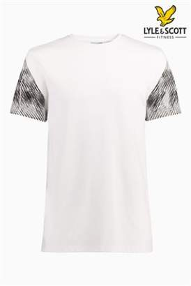 Next Mens Lyle & Scott Sport Whitfell Graphic T-Shirt