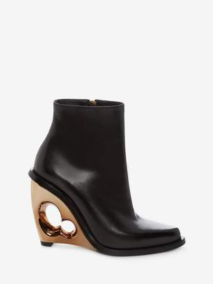 Alexander McQueen Sculpted Wedge Boot