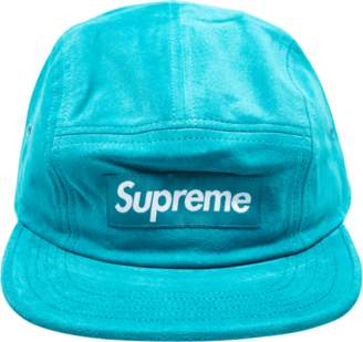 Supreme Suede Camp Cap - 'SS 17' - Turquoise