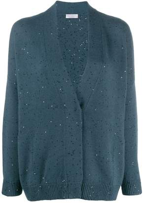 Brunello Cucinelli sequin knit cardigan