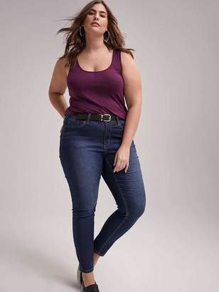 85b259225e586 Purple Plus Size Tops - ShopStyle Canada