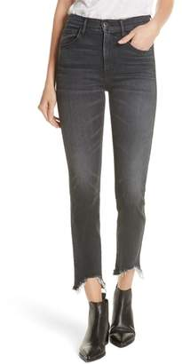 3x1 NYC W3 Chewed Hem Ankle Straight Jeans