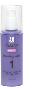 Almay Cleansing Lotion, Normal/Combo Skin with Grape Seed