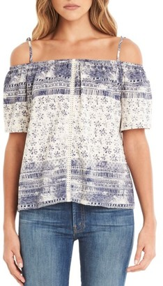 Women's Michael Stars Convertible Off The Shoulder Top $108 thestylecure.com