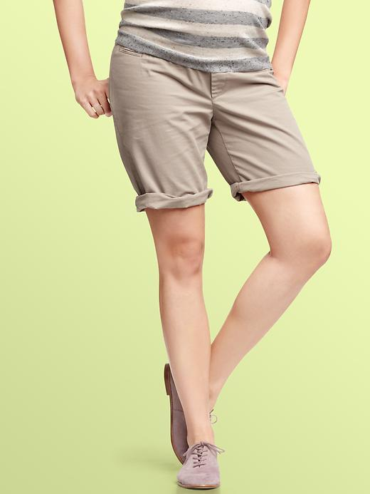 Gap Demi panel roll-up shorts