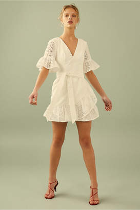 C/Meo Collective SOLSTICE MINI DRESS ivory
