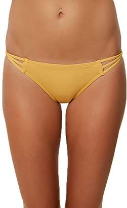 O'Neill Women's Salt Water Solids Strappy Pant Swimsuit