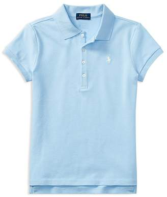 Polo Ralph Lauren Girls' Polo Shirt - Big Kid