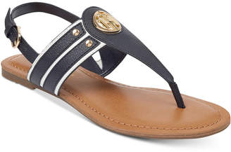 Tommy Hilfiger Lavas Slingback Thong Sandals Women's Shoes