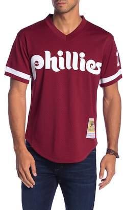 Mitchell & Ness John Kruk Mesh Jersey Philadelphia Phillies