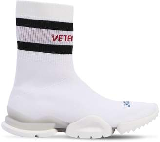 Vetements Reebok Jacquard Sock Sneakers