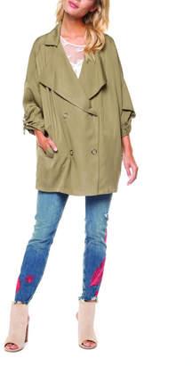 Dex Oversized Khaki Jacket