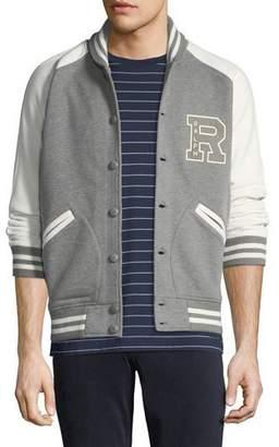 Ralph Lauren Men's Two-Tone Varsity Jacket