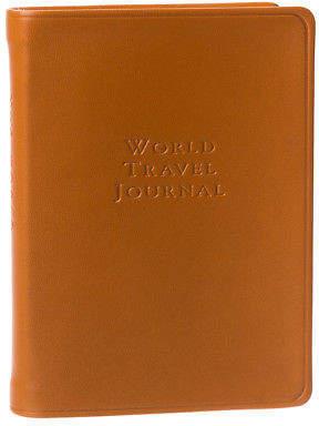 Graphic Image NEW World Tan Travel Journal