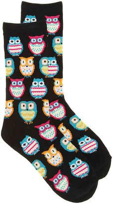 K. Bell Owls Crew Socks - Women's