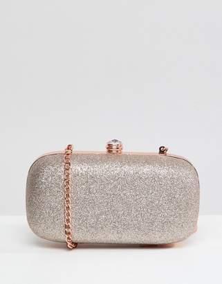 Carvela Darling Bronze Clutch Bag