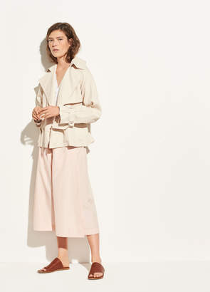 Vince Cropped Trench