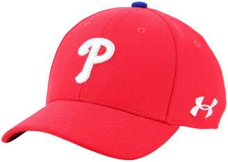 Under Armour Boys' Philadelphia Phillies Adjustable Blitzing Cap